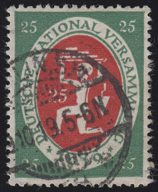 109 Nationalversammlung 25 Pf O 0