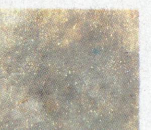 987III Liebermann: blauer Fleck rechts oben, Feld 15 ** postfrisch