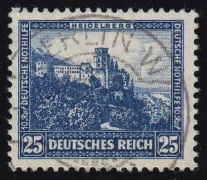 461 Deutsche Nothilfe Bauwerke 25+10 Rpf O