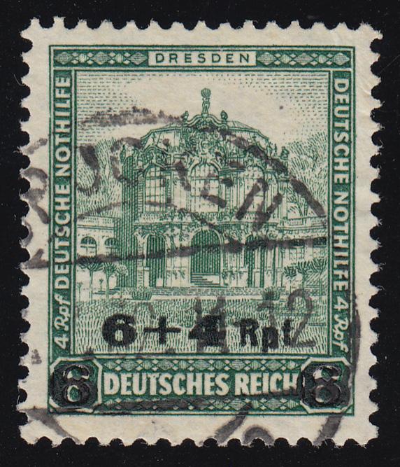 463 Deutsche Nothilfe Bauwerke 6+4 Rpf auf 8+4 Pf O 0