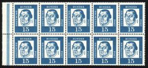 HBl. 13 aus MH 8 Luther, RLV IV, postfrisch