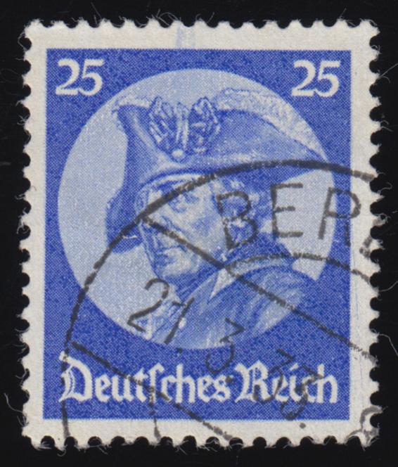 481 Friedrich der Große 25 Pf O 0