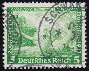 501A Nothilfe Wagner Rheingold 5 Rpf O