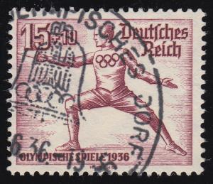614 Olympische Sommerspiele 15+10 Fechter O
