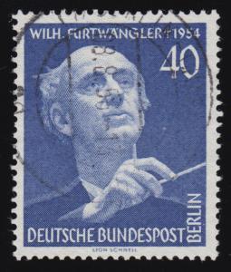 128 Wilhelm Furtwängler O gestempelt