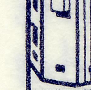 HBl. 19 aus MH 11 BuS, neue Fluoreszenz - mit PLF V (532I/IV), Feld 1 **