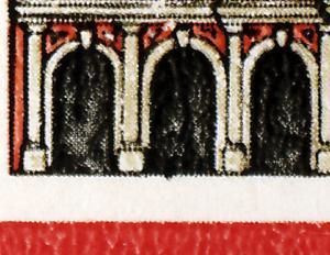 SMHD 13 Postmeilensäulen mit 3 PLF 2869, Felder 43, 44 und 50, **