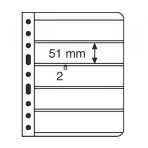 Kunststoffhüllen 5S VARIO: 5er-Einteilung, schwarz, 5er-Pack