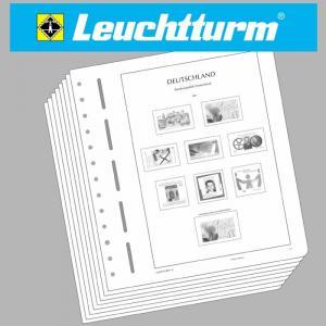 LEUCHTTURM MEMO-Nachtrag Deutschland 2007 - Ladenschauexemplar