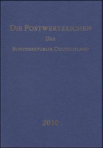 Jahrbuch Bund 2010, postfrisch komplett - wie von der Post verausgabt