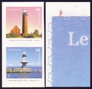 2478a Leuchtturm Brunsbüttel mit PLF roter Strich oben links **