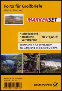 FB 17 Kellerwald-Edersee, Folienblatt 10x2863, **