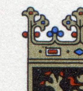 1587 Bayern: Eckrand-6er-Block mit 3 PLF auf den Feldern 1+6+8