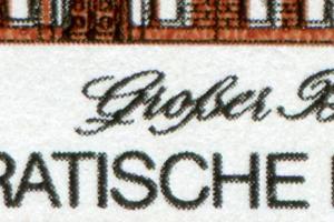 2453 Messe Leipzig 25 Pf. mit PLF: gebrochene untere Schleife des G, Feld 29 **