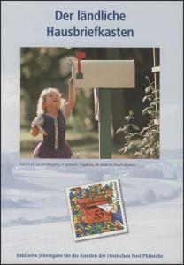 offizielle Jahresgabe der Post Hausbriefkasten, ESSt Berlin 2003
