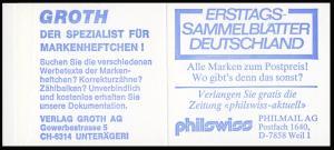 22Ik MH BuS 1980 Buchdruck Variante c - postfrisch