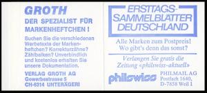 22Ik MH BuS 1980 Buchdruck Variante c, mit Zählbalken **