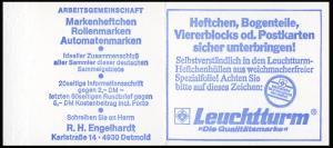 22Im MH BuS 1980 Buchdruck Variante c - postfrisch