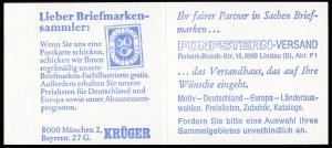 22Ib MH BuS 1980 Buchdruck Variante c - mit ZB **