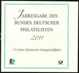 BDPh-Jahresgabe 2011 Block Sächsische Dampfschifffahrt