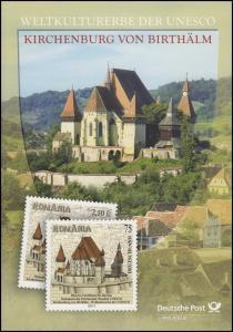 2889 UNESCO-Weltkulturerbe: Kirchenburg Birthälm mit Rumänien - EB 6/2011