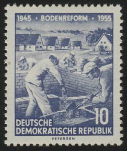 482 YI Bodenreform 10 Pf Wz.2 YI **