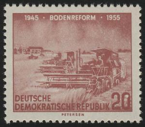 483 XII Bodenreform 20 Pf Wz.2 XII **
