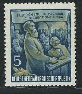 485A YII Friedrich Engels 5 Pf Wz.2 YII **