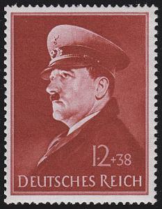 772y Hitlers Geburtstag 1941 - Marke **