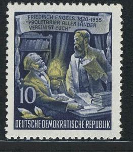 486A YII Friedrich Engels 10 Pf Wz.2 YII **