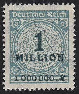 314AP Kreis mit Rosetten-Muster 1 Mio M **