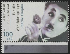 2218C Wofa Filmschauspieler Charlie Chaplin mit Zähnung C aus MH, **