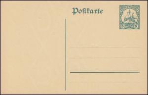 Neuguinea Postkarte P 13 Kolonial-Schiffszeichnung 5 Pf. grün, ** postfrisch