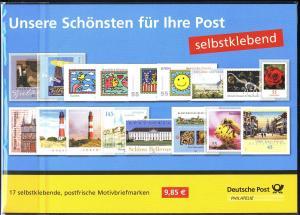 Briefmarken ... - 17 selbstklebende Motivbriefmarken **