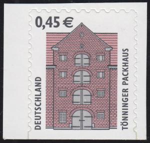 2303BDII SWK 0,45 Euro sk unten geschnitten, ENGES Raster **