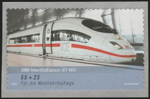 2567 Wofa Eisenbahn ICE SELBSTKLEBEND aus Rolle, **
