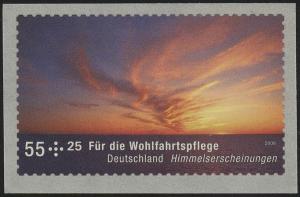 2717II Wofa Sonnenuntergang SELBSTKLEBEND aus Rolle, **