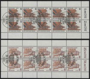 2224-25 SWK 20 Pf / 510 Pf - 10er-Bogen-Satz ESSt Berlin