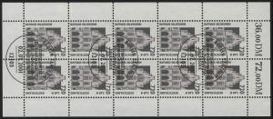 2197 SWK 720 Pf/3,68 Euro  - 10er-Bogen ESSt Berlin