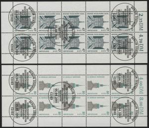 2176-77 SWK Kassel & Dortmund - 10er-Bogen gemischt ** / ESSt Berlin