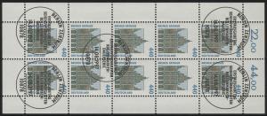 1937 SWK 440 Pf Bremer Rathaus - 10er-Bogen gemischt ** / ESSt Berlin