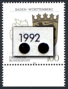 1586 Baden-Württemberg - Verzähnung bis an die Jahreszahl heran, **