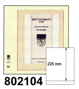 LINDNER-T-Blanko-Blätter 802 104 - 10er-Packung