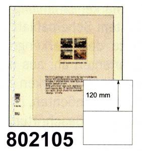 LINDNER-T-Blanko-Blätter 802 105 - 10er-Packung