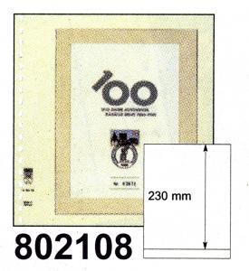 LINDNER-T-Blanko-Blätter 802 108 - 10er-Packung