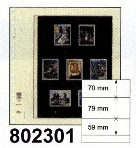 LINDNER-T-Blanko-Blätter 802 301 - 10er-Packung