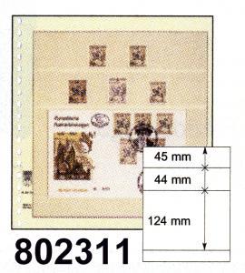 LINDNER-T-Blanko-Blätter 802 311 - 10er-Packung