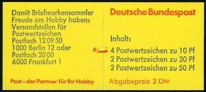 22Ir MH BuS Bdr. 1980 - mit PLF V, bZ, mit Zählbalken, **