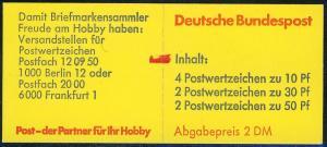 22Ia MH BuS Bdr. 1980 - mit PLF II, mit Zählbalken, **