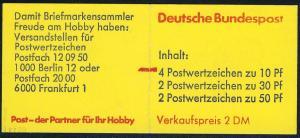 21b MH BuS 1977 - mit PLF V, Feld 4, mit Zählbalken, ** geprüft Schmidl